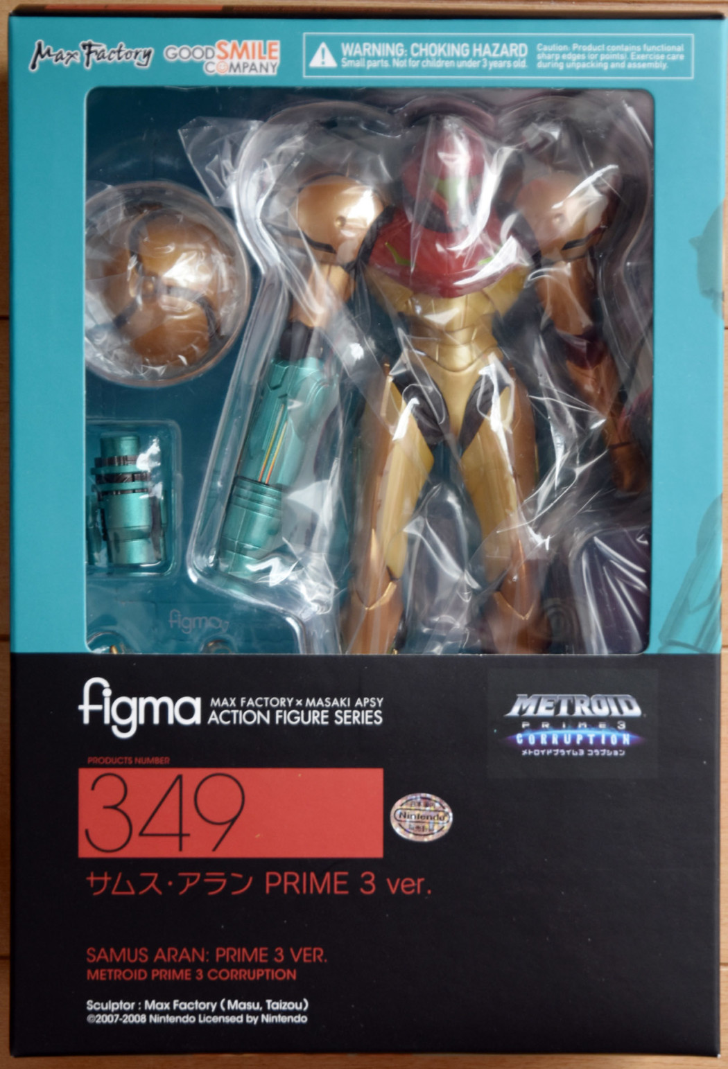 figma Samus Aran: PRIME 3 ver. by Good Smile Company (Part 1: Unbox)