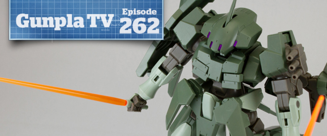 Gunpla TV – Episode 262 – HGBF Striker GN-X!