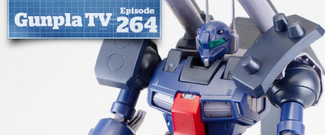 Gunpla TV – Episode 264 – RE/100 Guncannon Detector!