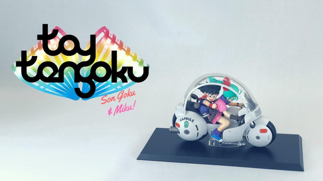 Toy Tengoku – Episode 46 – Desktop Real McCoy 06: Son Goku & Bulma!