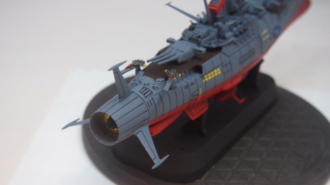 1/1000 Space Battleship Yamato 2202 by  Bandai Build