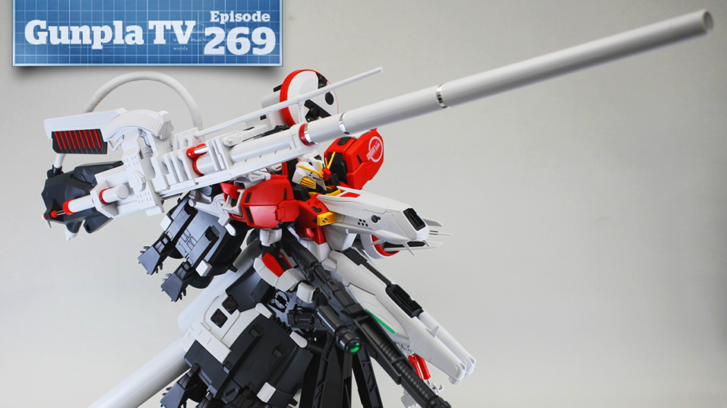 Gunpla TV – Episode 269 – MG Deep Striker Part 2, Pacific Rim, & A Familiar Face!