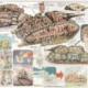 1/72 Multi-turreted Tank Akuyaku #1 Short Gun Barrel ver. by  Platz – Part One – Unboxing