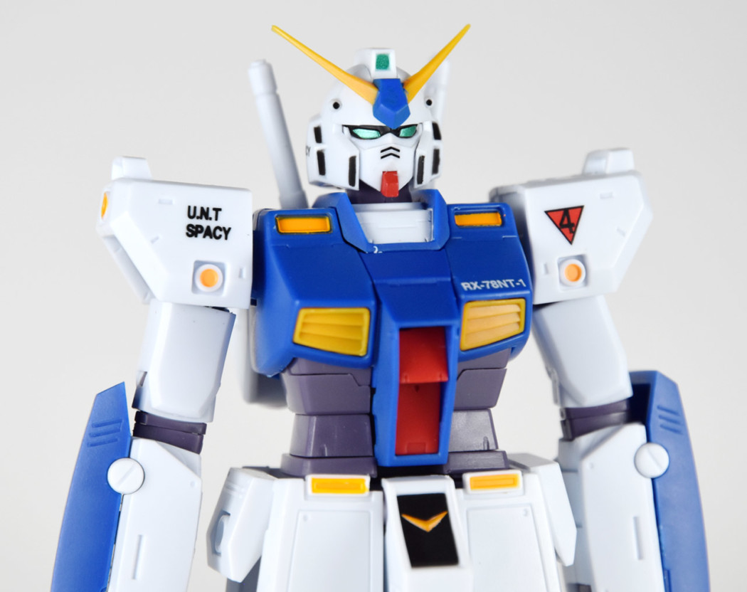 Robot Damashii RX-78NT-1 Gundam NT-1 ver. A.N.I.M.E. by Bandai (Part 2: Review)