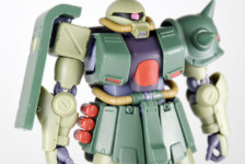 Robot Damashii MS-06FZ Zaku II Kai ver. A.N.I.M.E. by Bandai (Part 2: Review)