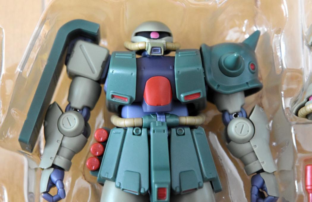 Robot Damashii MS-06FZ Zaku II Kai ver. A.N.I.M.E. Unboxing