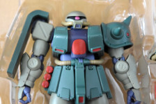 Robot Damashii MS-06FZ Zaku II Kai ver. A.N.I.M.E. by Bandai (Part 1: Unbox)
