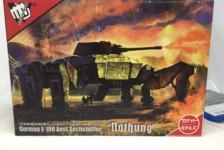1/72 German E-100 Ausf.Sechsfuessler Nothung by Rocket Model – Unbox