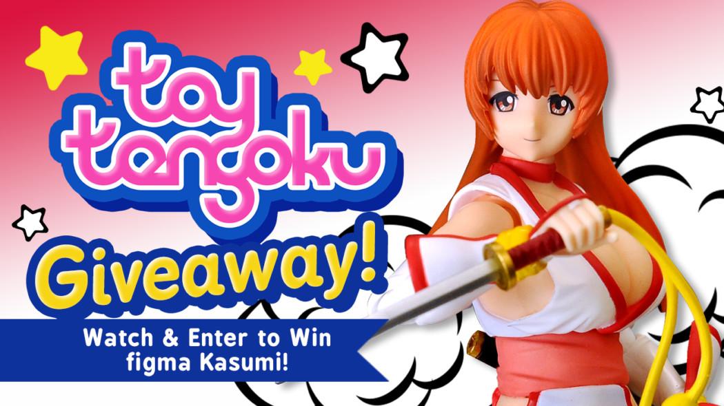 Toy Tengoku – Episode 64 – DOA figma Kasumi!