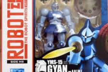 Robot Damashii YMS-15 Gyan ver. A.N.I.M.E. by Bandai (Part 1: Unbox)