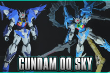 1/144 HGBD Gundam 00 Sky and (Higher Than Sky Phase) Review