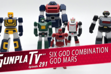 Gunpla TV – Episode 291 – MODEROID Six God Combination God Mars