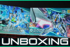 1/144 HGBD Gundam 00 Sky and (Higher Than Sky Phase) Unboxing