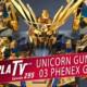 Gunpla TV – Episode 295 – Golden HGUC Unicorn 03 Phenex Destroy Mode (Narrative Ver.)