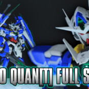 MG Gundam 00 Qan[T] Full Saber Review