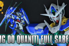 MG Gundam 00 Qan[T] Full Saber Review