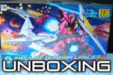 HGBD Impulse Gundam Lancier Unboxing