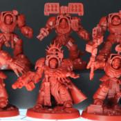 Space Marine Heroes Series 2