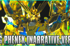 1/144 HGUC Unicorn Gundam 03 Phenex (Narrative Ver.) [Gold Coating] Review