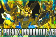 1/144 HGUC Unicorn Gundam 03 Phenex (Narrative Ver.) [Gold Coating] Review