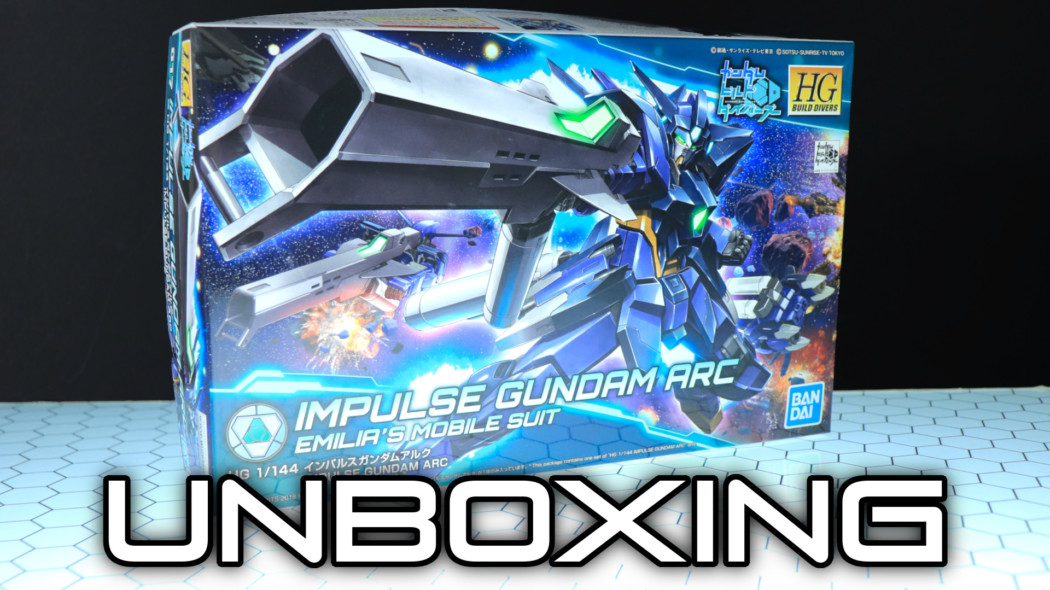 HGBD Impulse Gundam Arc Unboxing