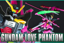 HGBD 1/144 Gundam Love Phantom Unboxing & Review