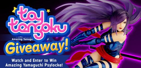 Toy Tengoku – Episode 77 – Amazing Yamaguchi Psylocke!