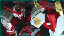 1/100 Hi Resolution Model Gundam Astray Red Frame Unboxing & Review