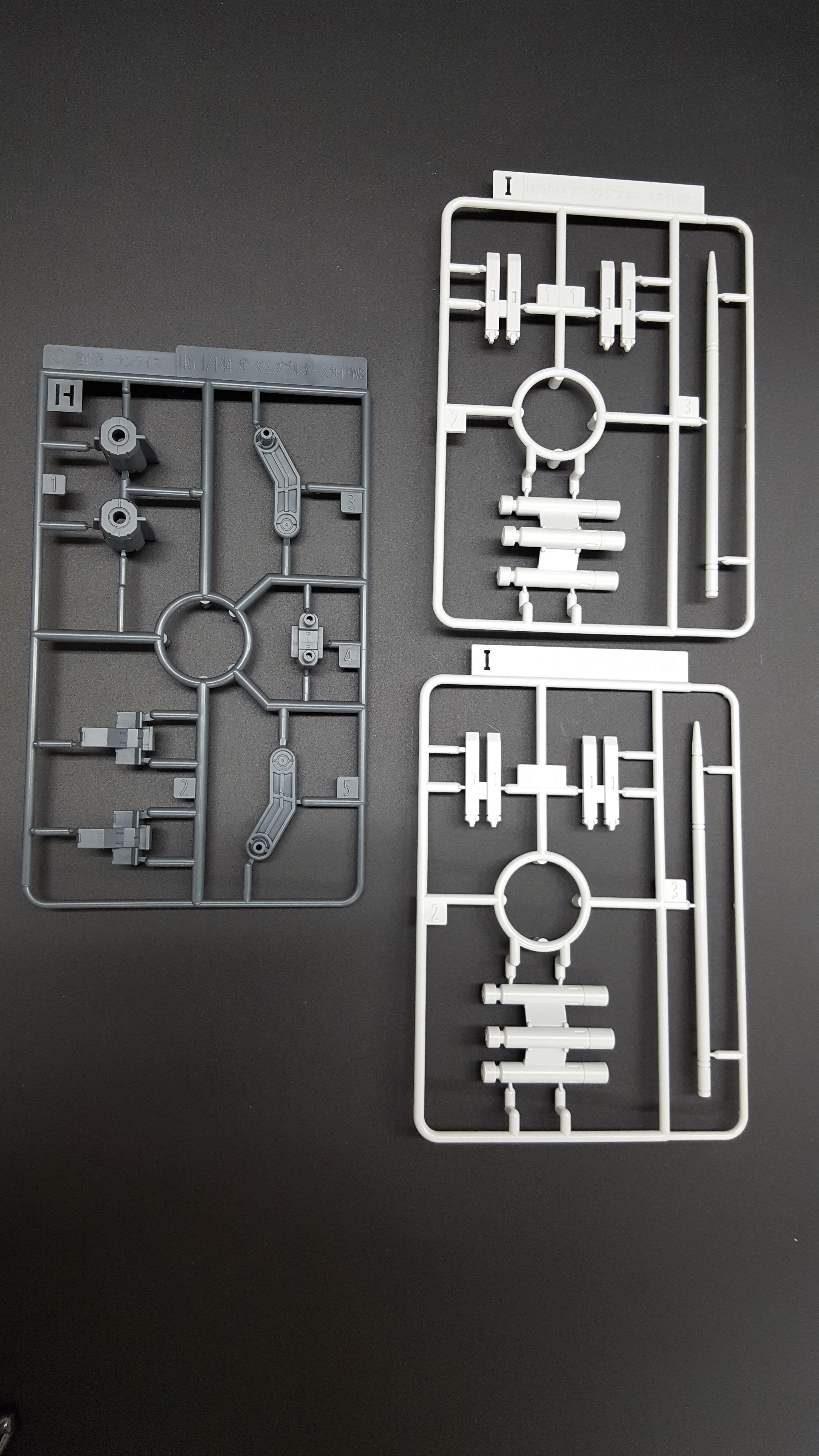 1/144 HGBC HWS & SV Custom Weapon Set