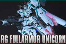 1/144 RG Full Armor Unicorn Gundam Unboxing & Review