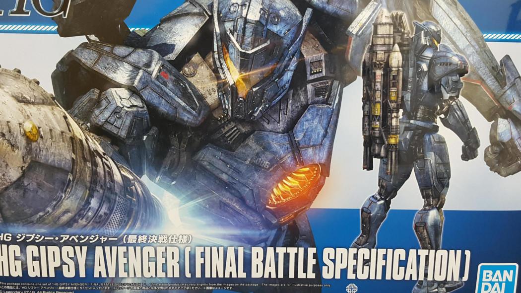 HG Gipsy Avenger (Final Battle Specifications)