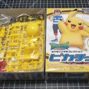 Pokemon Plamo Collection Pikachu N.19 and N.41 (Part 1)
