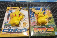 Pokemon Plamo Collection Pikachu N.19 and N.41 (Part 2)