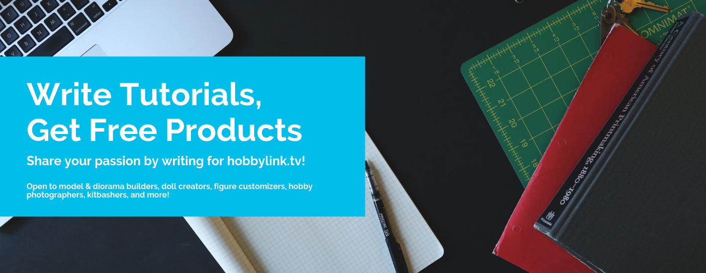 Write for hobbylink.tv