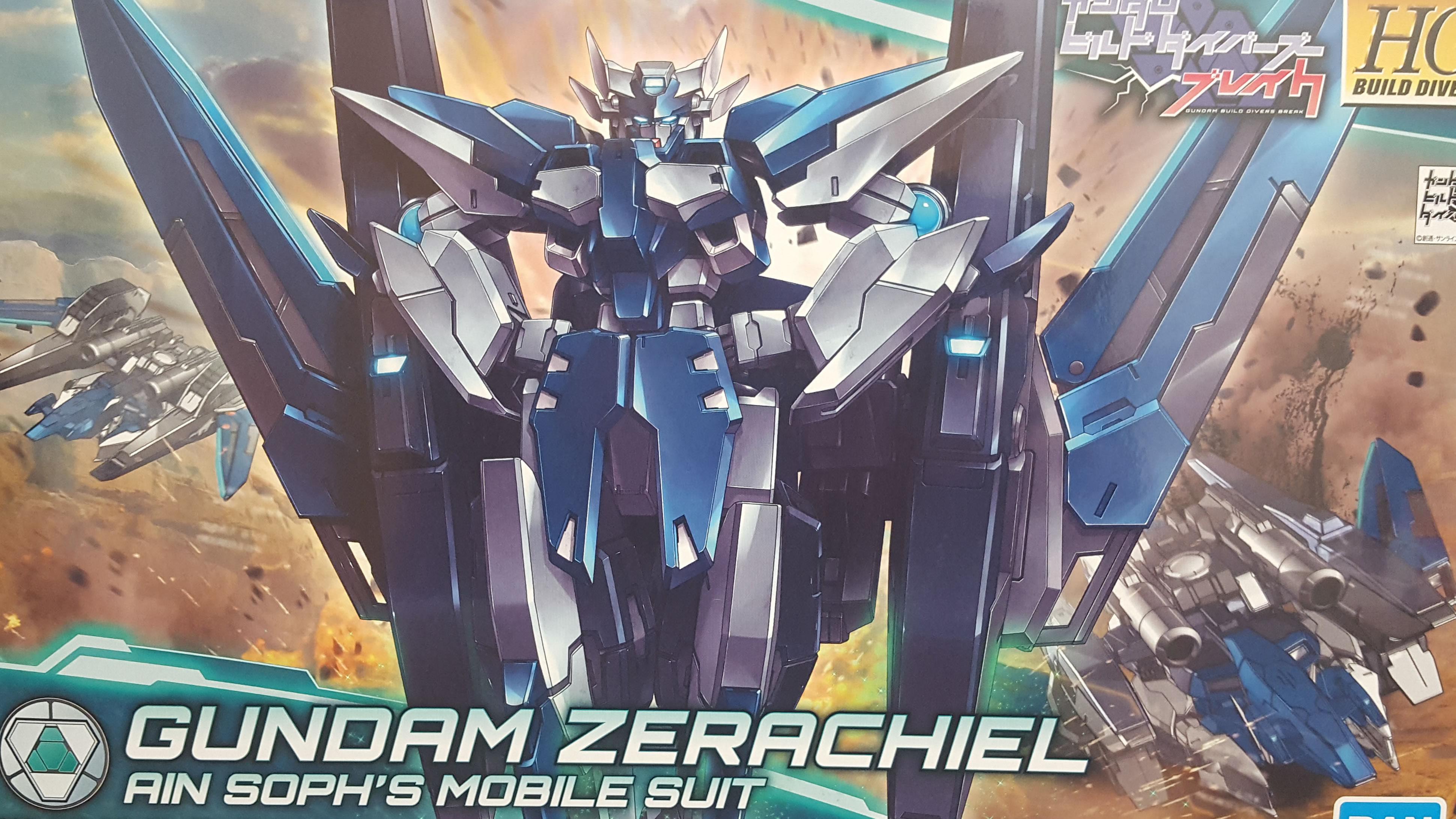 1/144 HGBD Gundam Zerachiel Unboxing