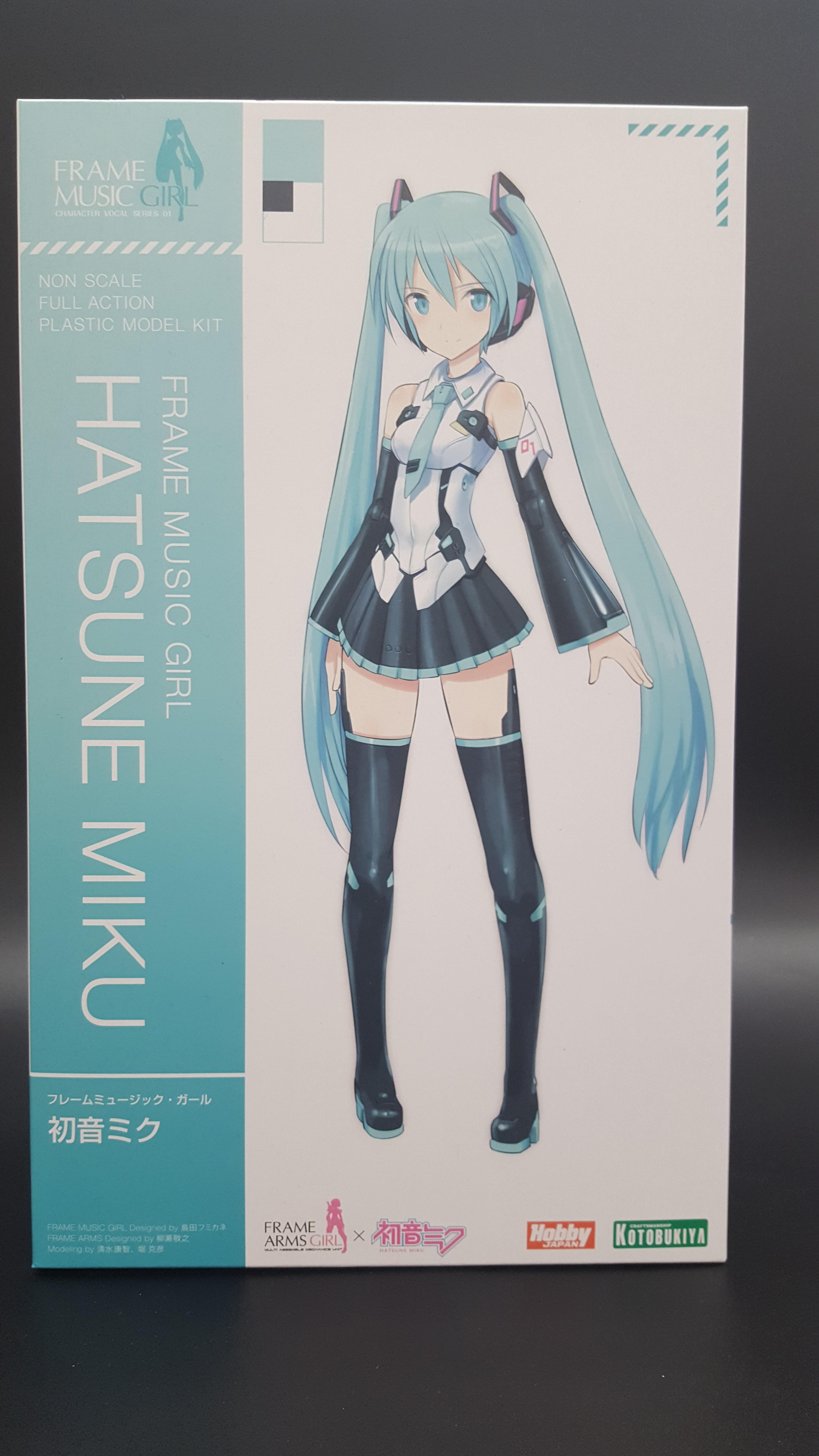 Frame Music Girl Hatsune Miku (Secondary Production)
