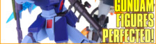 Robot Damashii GM Sniper II and Zaku High Mobility Black Tri Stars Review