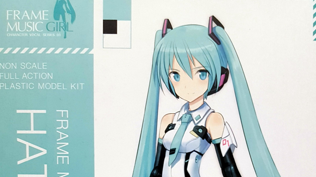 Frame Music Girl Hatsune Miku Unboxing