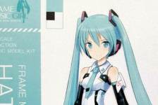 Frame Music Girl Hatsune Miku Unboxing