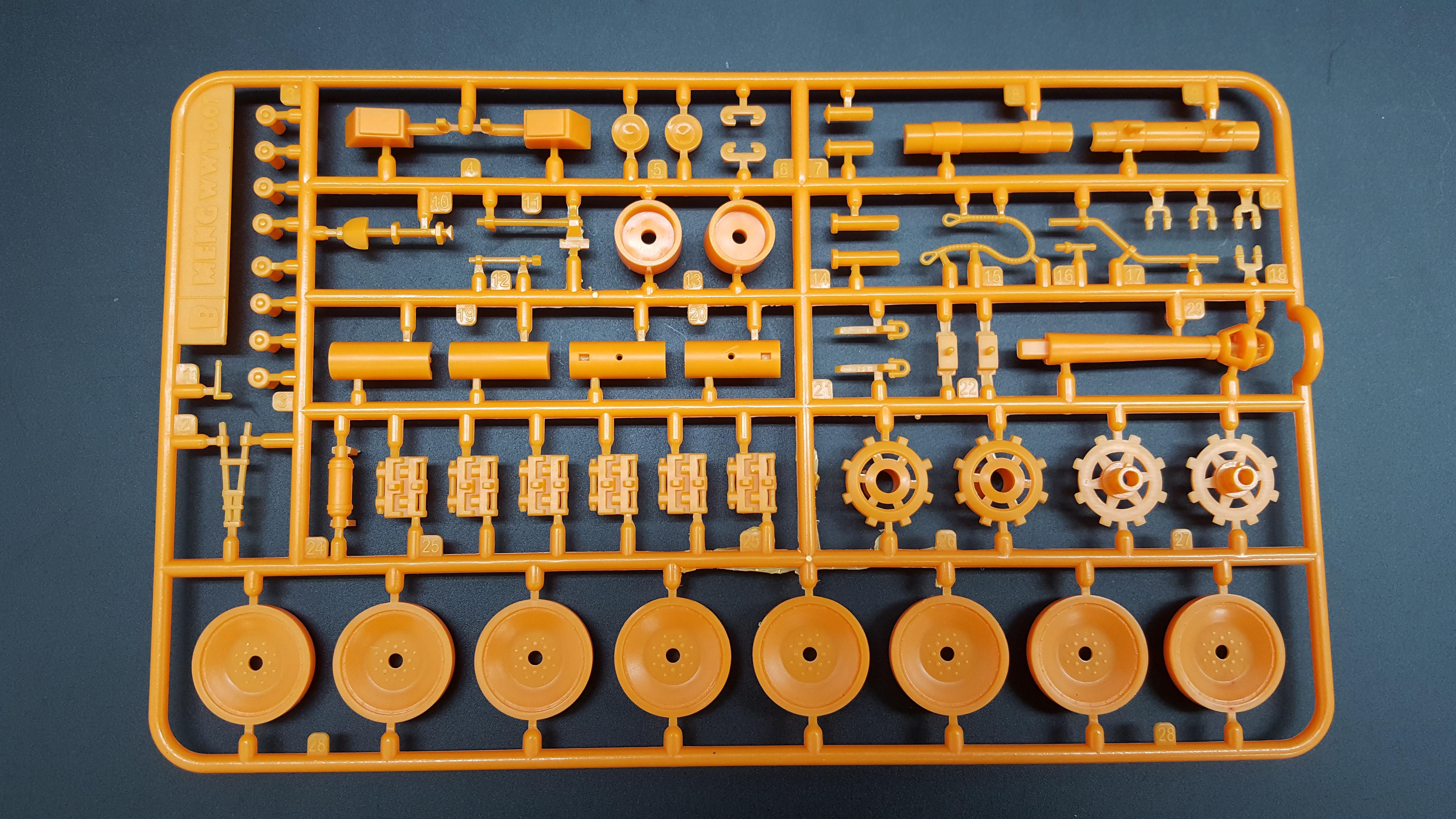 World War Toons Panther Orange Version
