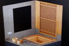 1/12 Open-Air Bath Made of Cypress