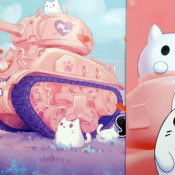 World War Toons M4A1 Sherman Pink Version