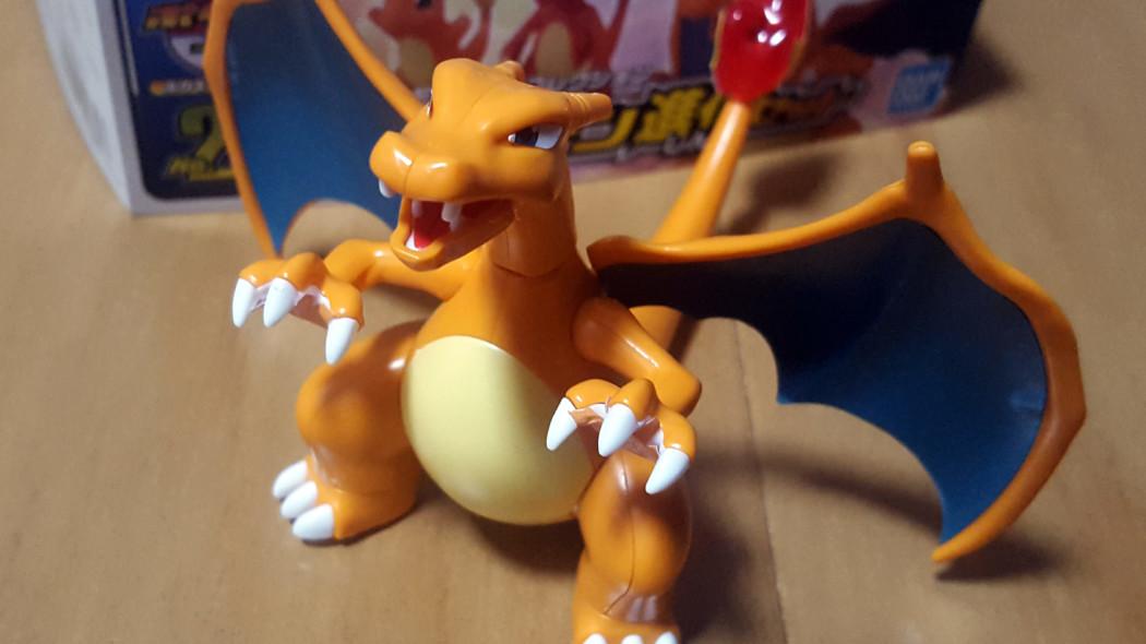 Pokemon Plamo Charizard Evolution Set