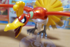 Pokemon Plamo Collection Ho-Oh, Charizard & Ash's Pikachu Set