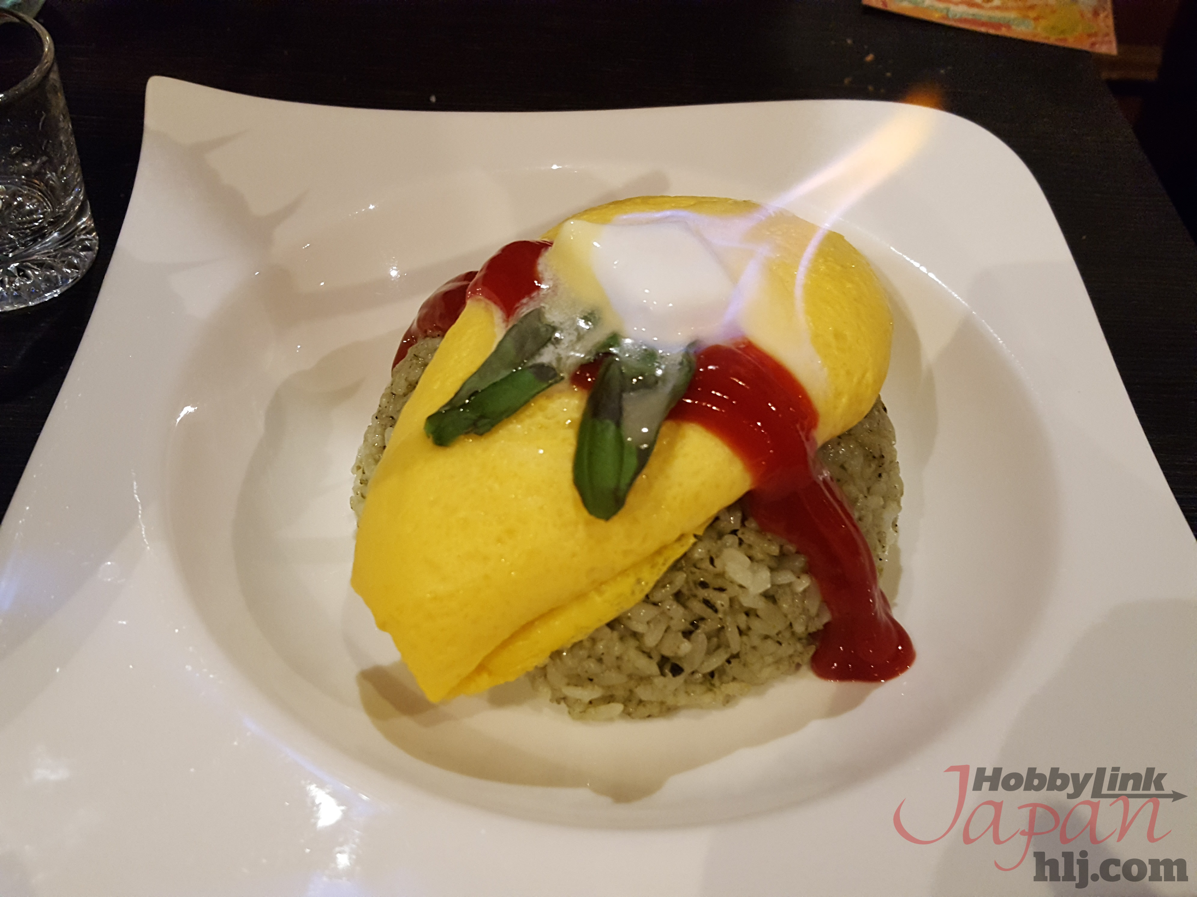 Tonberry Rice Omelette