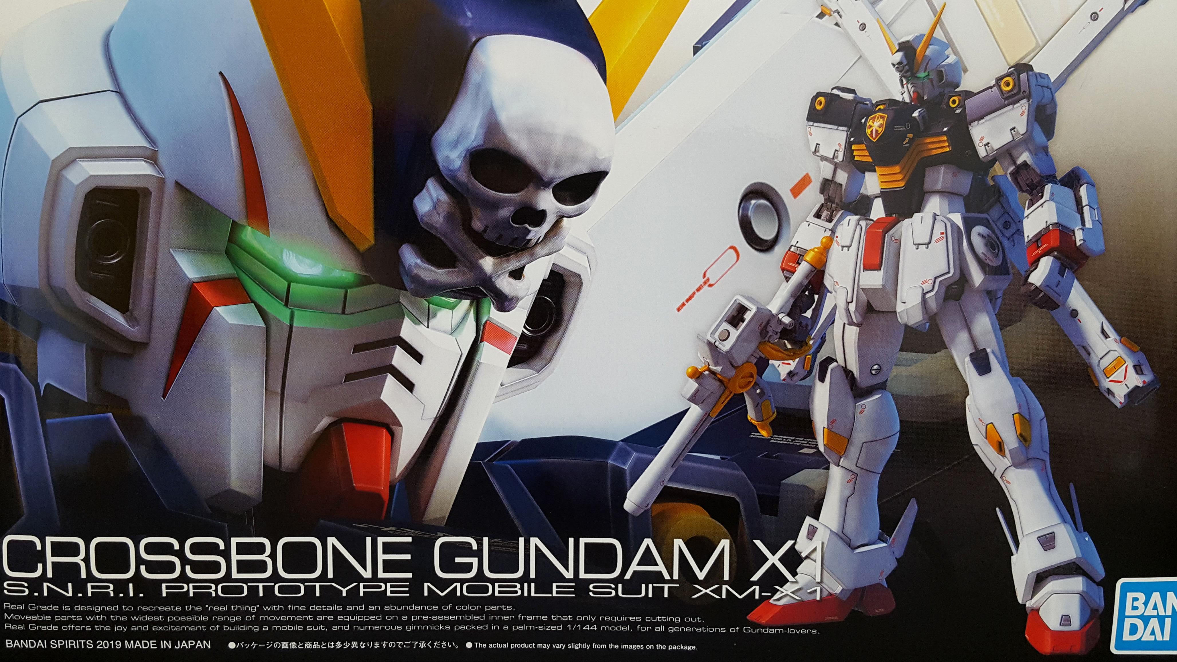 1/144 RG Crossbone Gundam X1 Unboxing