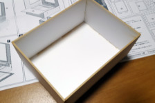 1/12 Cypress Open-Air Bath Wood Kit Build Part 2: Structure Construction