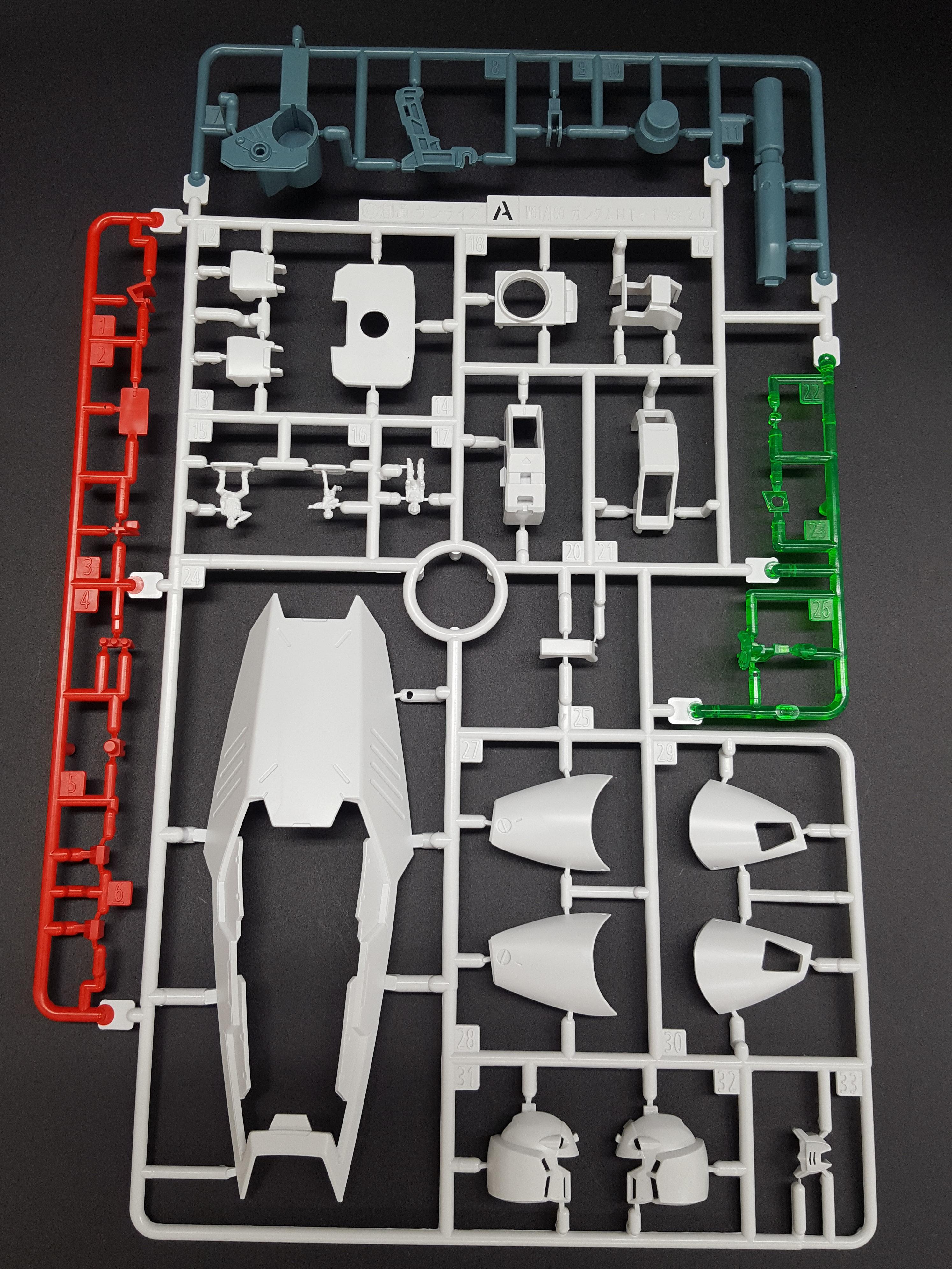 1/100 MG Gundam NT-1 Ver.2.0