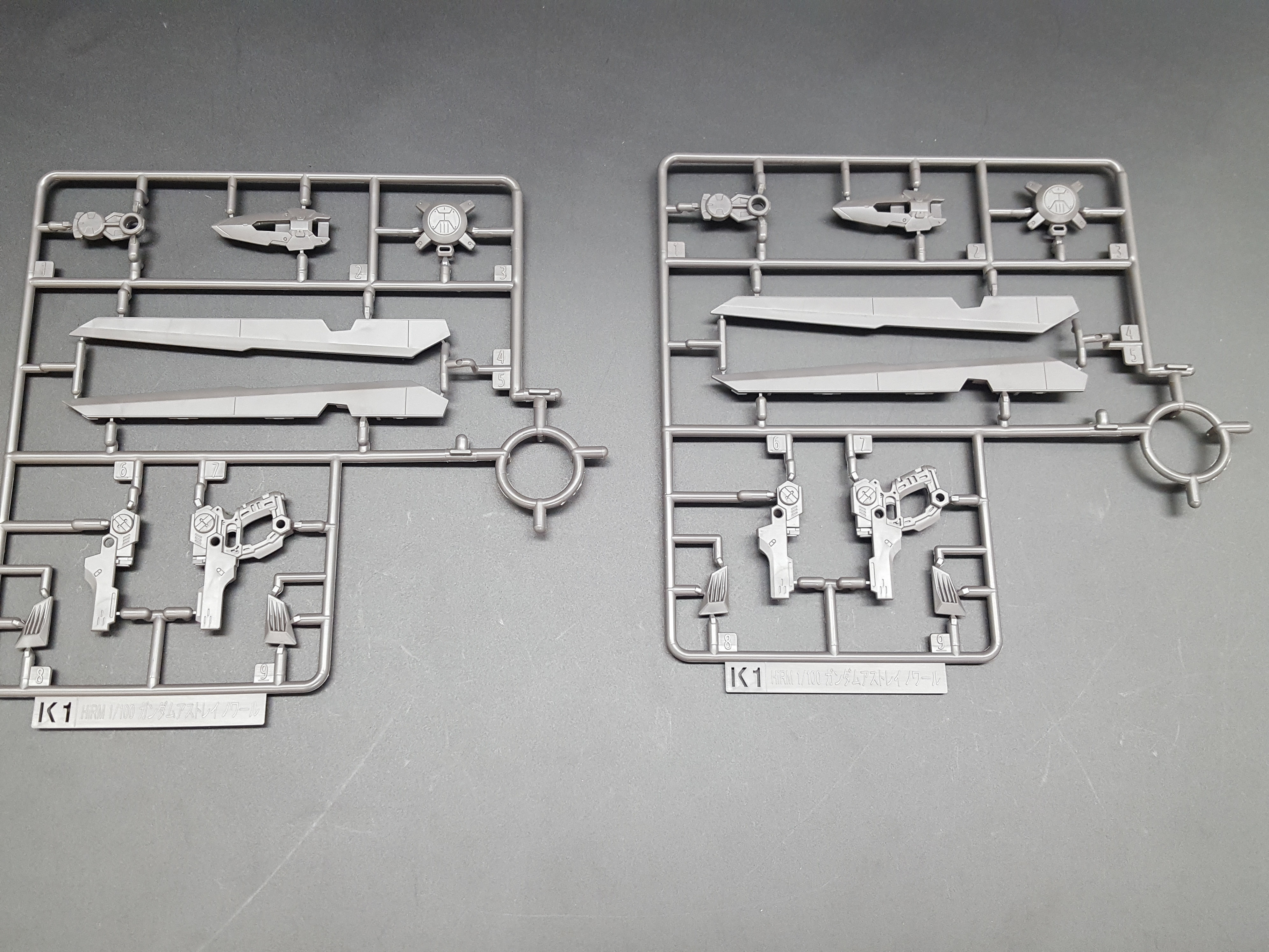 1/100 Hi-Resolution Model Gundam Astray Noir