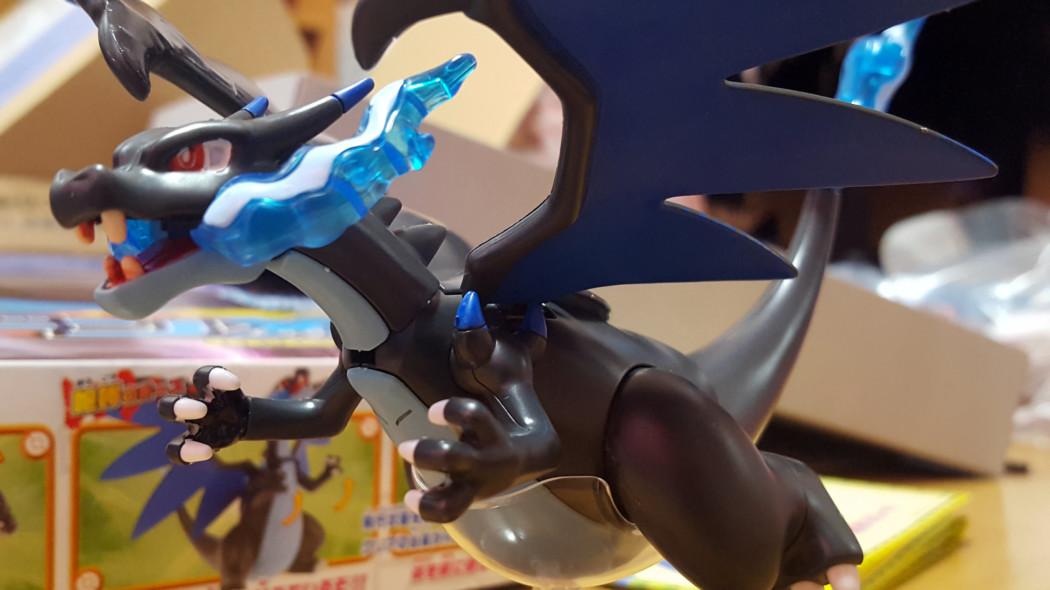 Pokemon Plamo Mega Charizard X Build & Review